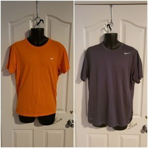 Lot of 2 Mens Nike T Shirts Size Large